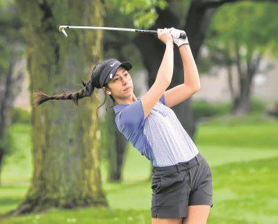 Shawnee's Madilyn Paphanchith advanced to the Division I districts last season. Richard Parrish   The Lima News