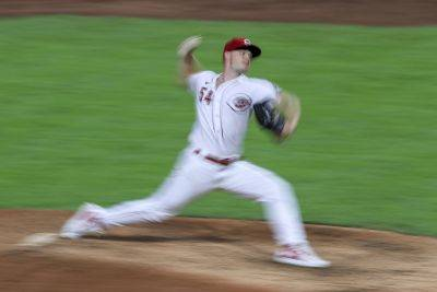 The Reds' Sonny Gray struck out 10 during Friday night's win against Pittsburgh, raising his season total to 45, a franchise record for a pitcher's first five season appearances. (AP photo)