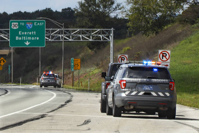 Police around the country are reporting that as roads and highways emptied during the pandemic, some remaining drivers took advantage by pushing well past the speed limit. It's a trend that statistics show is continuing even as states reopen. (AP Photo/Keith Srakocic)