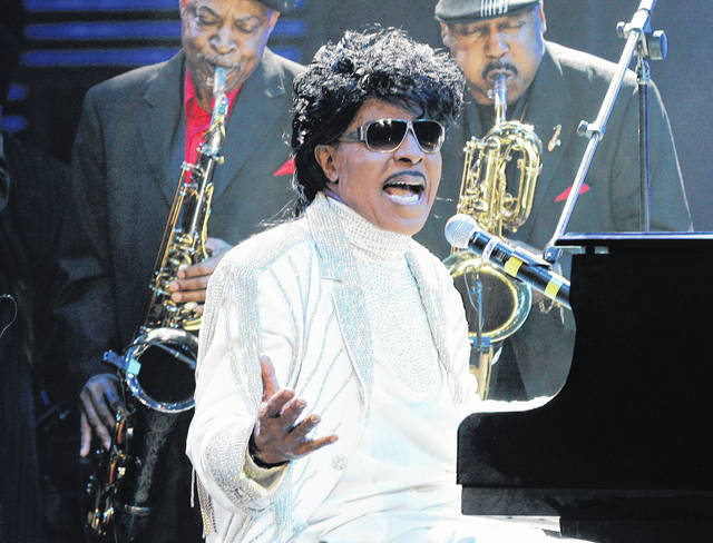 """FILE - In this May 30, 2009 file photo, Little Richard performs at The Domino Effect, a tribute concert to New Orleans rock and roll musician Fats Domino, at the New Orleans Arena in New Orleans. ESPN is changing their """"Monday Night Football"""" theme song. The season will feature a new version of Little Richard's hit """"Rip It Up,"""" featuring new instrumentals and backup vocals from the Virginia-based band Butcher Brown. Hank Williams Jr. had sung the theme song for years in a version of his hit """"All My Rowdy Friends Are Coming Over Tonight."""""""