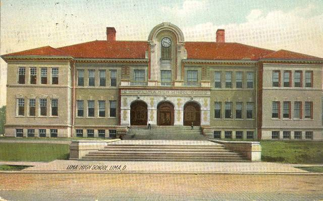Lima Central High School was built in 1905. A fire at Central in 1966, after Lima Senior opened, led officials to pivot to building two new junior high schools.