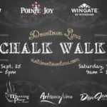 Chalk Walk slated this weekend in downtown Lima