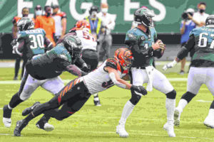 Inconclusive: Bengals and Eagles play to a tie they can't break in OT
