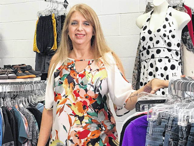 Crystal Ryan opened Flippin Fabulous thrift store at 2390 Baty Road in June.