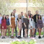 Leipsic Homecoming Court set