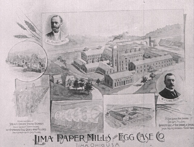 Benjamin C. Faurot struck oil at the Lima Paper Mills and Egg Case Co.