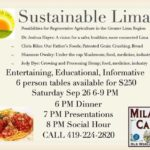 'Sustainable Lima' presentations offered at Milano Cafe