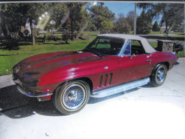 Vicky Allen said this 1965 Chevrolet Corvette Roadster helped bring her together with her late husband, Gary Allen.