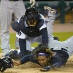 Indians hold on in 9th for 1-0 victory against Tigers