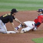 Indians' playoff positioning hurt by 8-0 loss to Pirates