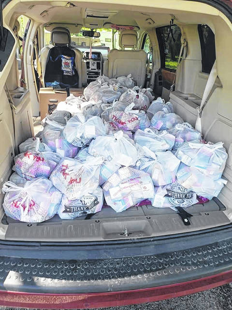 Angelique Suarez delivered 1,021 meals to hungry children in the Perry school district from April to August.