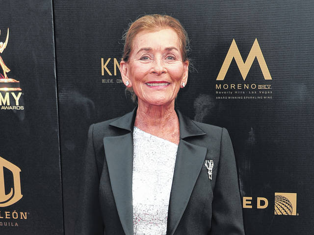 """Judge Judy Sheindlin arrives at the 46th annual Daytime Emmy Awards in Pasadena, Calif., on May 5, 2019. Sheindlin, whose long-running syndicated courtroom show """"Judge Judy"""" will end production in 2021, will be dispensing justice on an exclusive show in the U.S. for IMDb TV."""