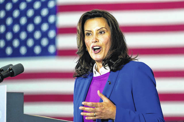 Michigan Governor Gretchen Whitmer said the comments made by President Trump at a rally Saturday night must end as they incite domestic terrorism.
