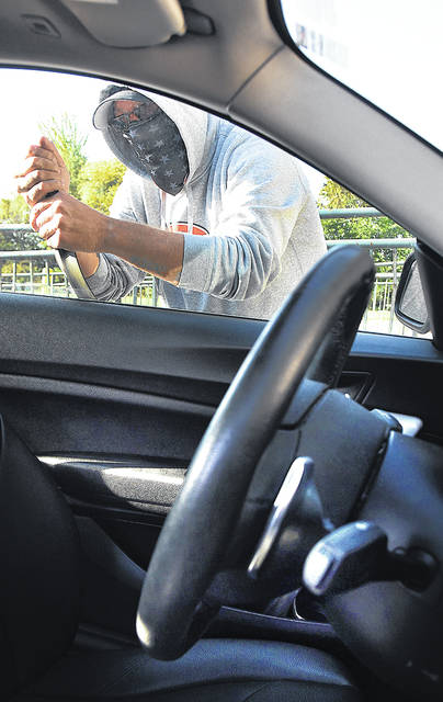 Auto thefts in the region through the first three-fourths of 2020 were already higher than all of 2019 in Allen County.