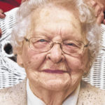 102nd birthday: Maxine Evans