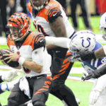 Bengals let 3-touchdown lead slip away in 31-27 loss to Colts