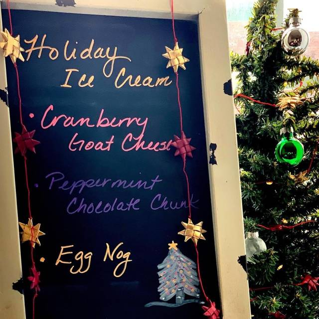 Knueven Creamery, in Leipsic, started making seasonal ice cream for the holidays in 2019, a budding tradition for local ice cream shops and creameries.
