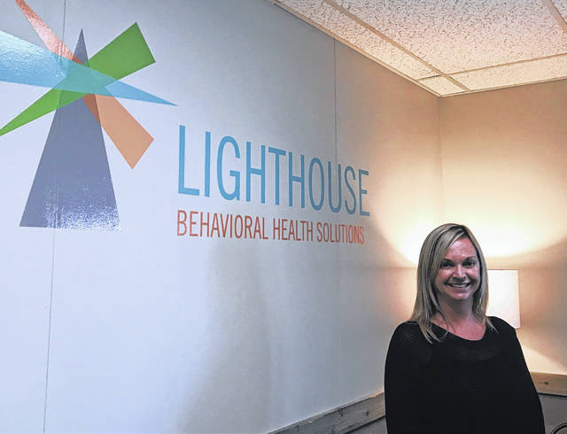 Jamie Declercq, clinical director of Lighthouse Behavioral Health Solutions on Cable Road. The clinic focuses on a combination of intensive outpatient therapy, medication-assisted treatment, counseling, case management and recovery housing to help patients transition back to normal lives.
