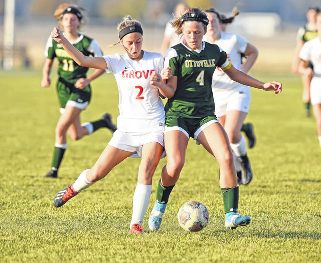 Girls soccer: Ottoville outlasts Columbus Grove, 2-1