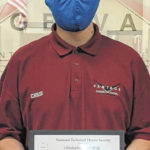 Vantage student receives certifications