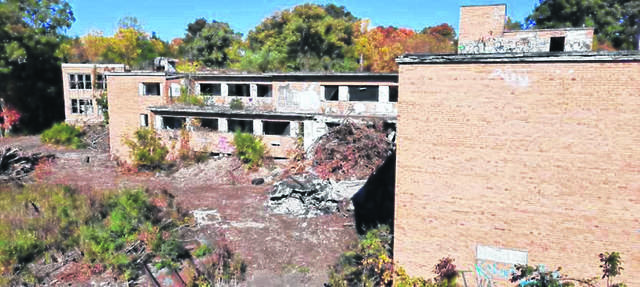 The former Lima Tuberculosis Hospital is in rough shape.