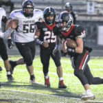 High school football: Spencerville, McComb tied at halftime