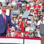 Trump rallies packing in thousands