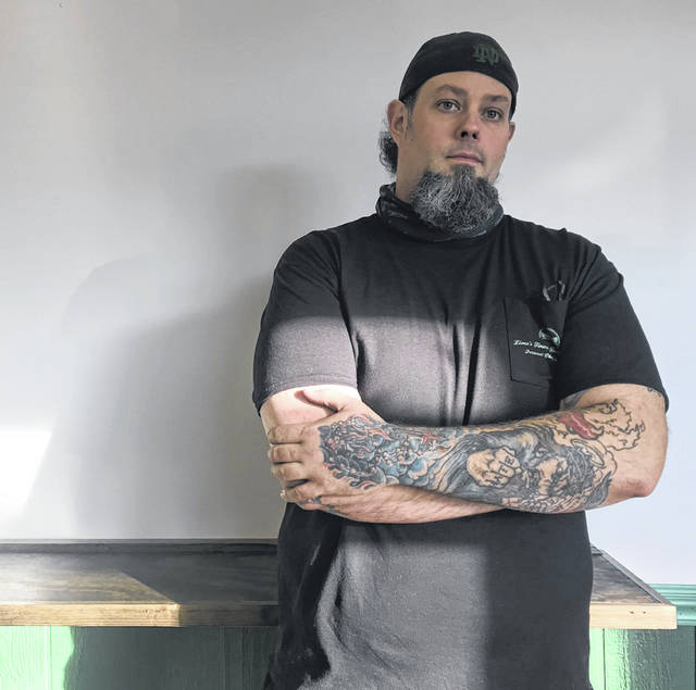 Daniel Hobbs founded his own catering and personal meal prepping company, Lima's Finest Food Company, in 2018. He's now expanding with a cafe on Cole Street.
