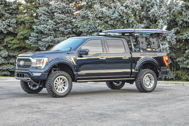 The new F-150 Limited Hybrid SuperCrew includes the first hybrid drivetrain in the truck class.