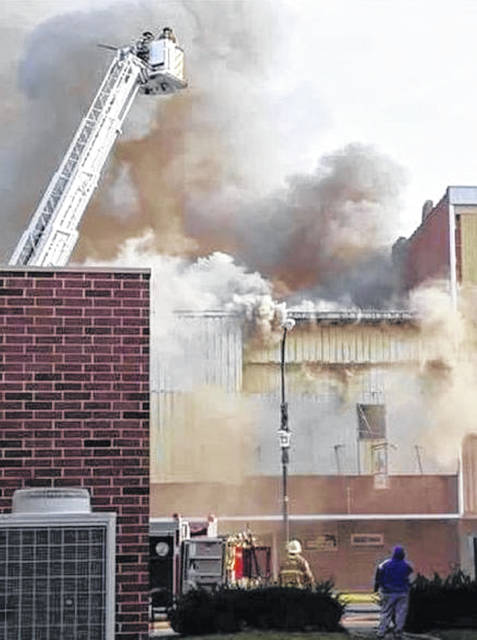 Fire broke out at 8:30 a.m. Sunday at Smokin' B's Bar & Grill in Leipsic.