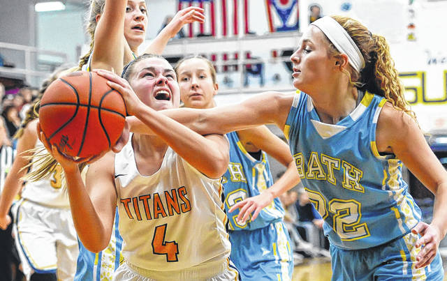 During their junior seasons, Ottawa-Glandorf's Kelsey Erford (4) was the Western Buckeye League player of the year and Bath's Chandler Clark (22) was a second team All-WBL selection.