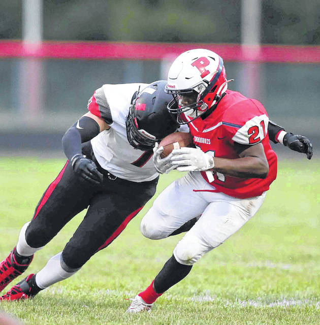 Perry's Devares Glenn had another outstanding season for the Commodores and was named the Northwest Central Conference defensive player of the year for the second straight season.