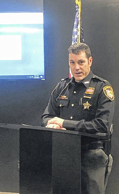 Allen County Sheriff Matt Treglia held a press conference Wednesday morning to officially unveil a new computer upgrade that he said will greatly benefit first responders in the county.
