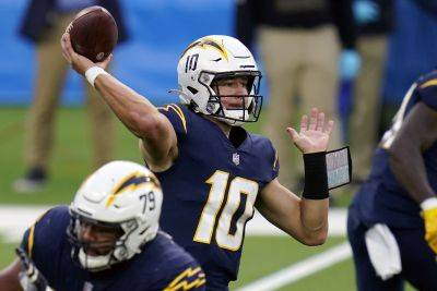 Los Angeles Chargers quarterback Justin Herbert has thrown for 10 touchdowns and only three interceptions in three road starts.