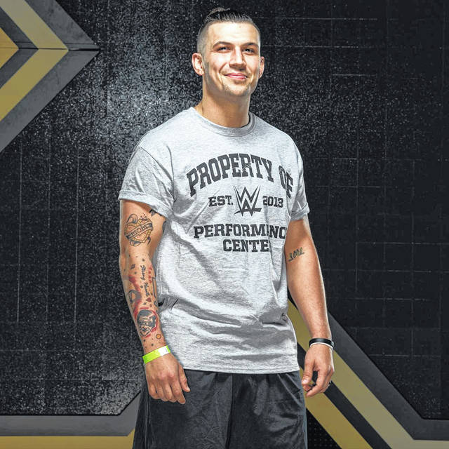 "Elida graduate Zachary Green, who wrestles under the name ""Wentz,"" could be wrestling in World Wrestling Entertainment events soon after starting workouts at the WWE Performance Center earlier this month."