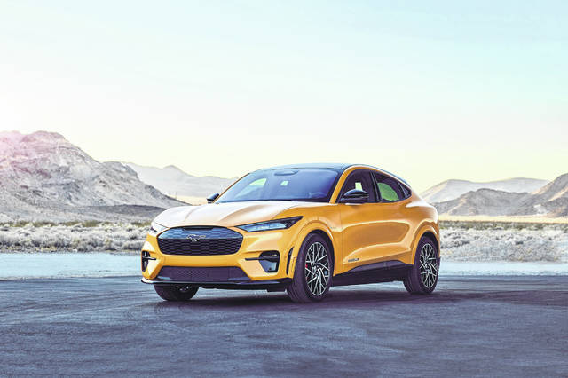 The all-electric Mustang Mach-E GT Performance Edition promises to accelerate to 60 mph in 3.5 seconds. Ford Motor Co. is hoping this vehicle, which will be available in the summer, will directly compete for Tesla Model Y customers.
