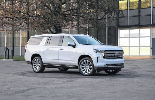 The 2021 Chevrolet Surburban offers a high-mpg version of the year's biggest new SUV.