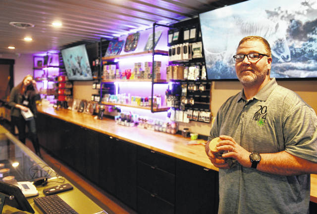 Tomor Ali opened 20 Past 4 provisioning in January of this year in Jackson County Michigan, just across the Ohio border, after Michigan voters legalized marijuana. On Friday, the U.S. House voted to decriminalize marijuana at federal level.