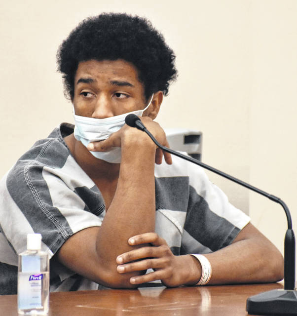 Farrakahn Mitchell, 17, was ordered to begin serving a 10-year sentence in adult prison following a hearing Friday in Allen County Common Pleas Court. He was sentenced in October on an amended charge of robbery, a second-degree felony that included a firearm specification.