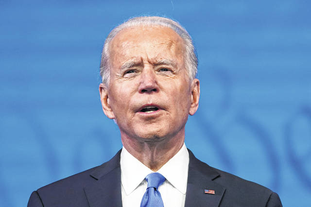 """Joe Biden: """"The flame of democracy was lit in this nation a long time ago. And we now know that nothing — not even a pandemic — or an abuse of power — can extinguish that flame."""""""