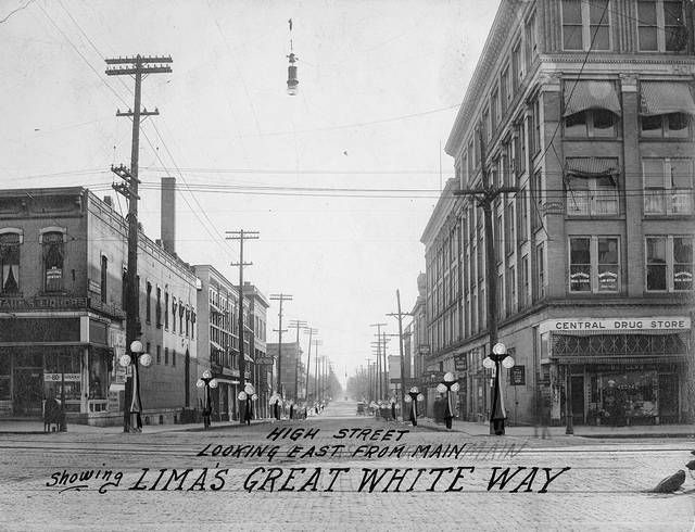 Lima's Great White Way, the boulevard lighting project, was a heady topic from when the idea first came out. It was getting vehement by the close of 1920. People were concerned about safety.
