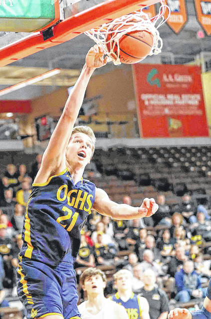 Ottawa-Glandorf's Owen Nichols was named second team All-Western Buckeye League as a junior.