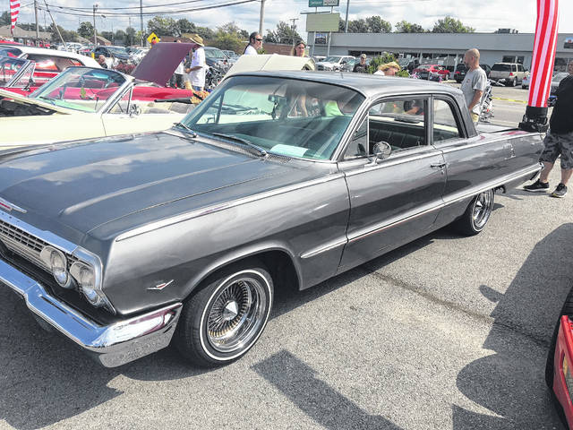 Dylan Ralston, 19, of Uniopolis, bought this classic 1963 Chevy Impala earlier this year.
