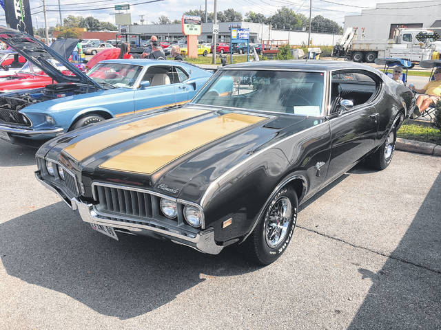 Mike Mitchell, of Elida, bought this 1969 Oldsmobile Cutlass when he was 16. He later sold it, but he tracked it back down and bought it again four years ago.