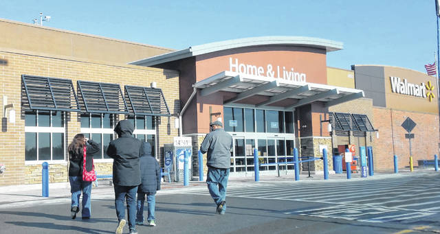 Saturday was a big day for shoppers to return to the stores such as Walmart, looking for bargains or returning gifts.