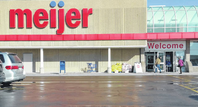 There was lots of foot traffic at the Meijer store in Lima on Saturday, as people return gifts or look for bargains.