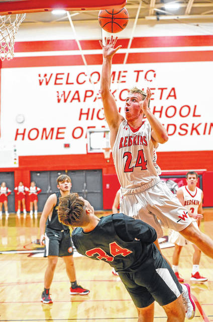Wapakoneta's Garrett Siefring has been a contributor on both offense and defense for the Redskins.