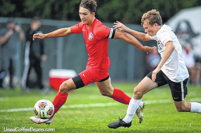 """Bluffton's Jonathon Schriner was named to the 2020 United Soccer Coaches (USC) """"Great Lakes All-Region team"""