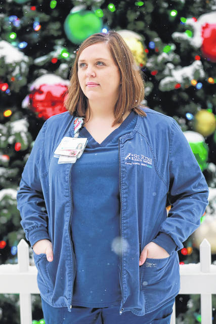 ICU nurse Jill Vorst said the hardest part of working in the COVID-19 units is knowing that some patients won't recover.
