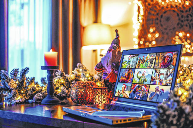 Christmas gatherings should be reconsidered this year because of the pandemic, but there are other ways to connect using technology.